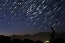 Startrails and Meteor Shower
