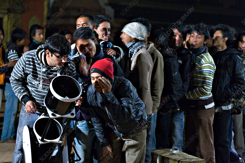 Star Party in Nepal