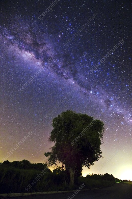 Southern View of the Milky Way