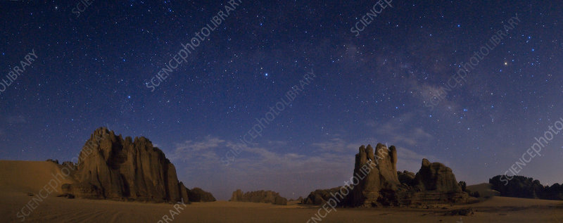 Sky over The Sahara