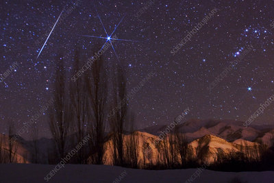 Gemenid Meteor Shower