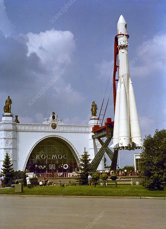 Vostok exhibition display, 1967