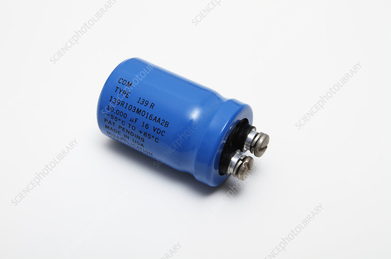 Assembled Electrolytic Capacitor 2 of 2