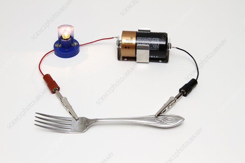 Electrical Conductivity Tester : Conductivity test of stock image c
