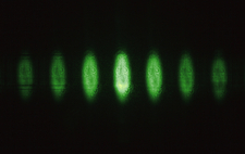 Laser Split by Diffraction Grating, 2 of