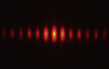 Laser Split by Diffraction Grating, 3 of