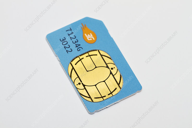 Subscriber Identity Module Card