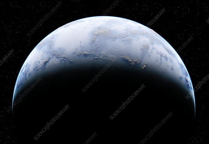 Earth-like alien planet