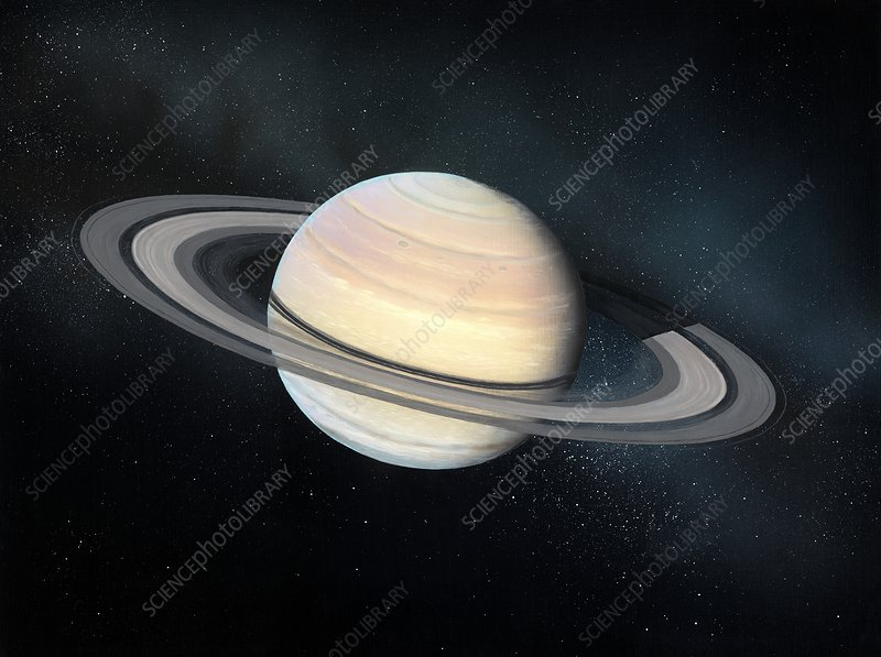 Saturn, artwork