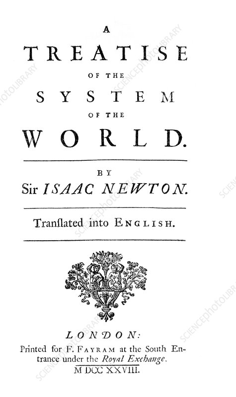 Newton's System of the World