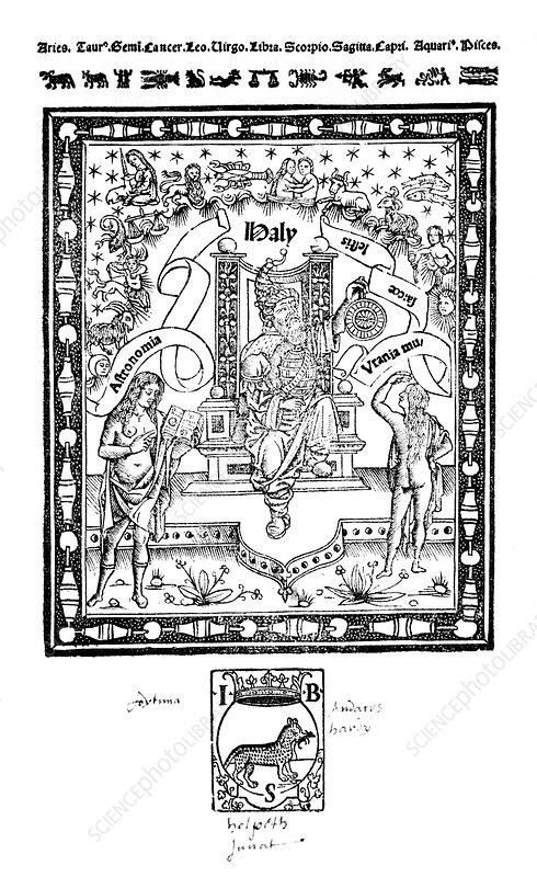 16th Century astronomy publication