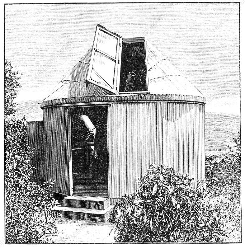 Romsey observatory design, 1890