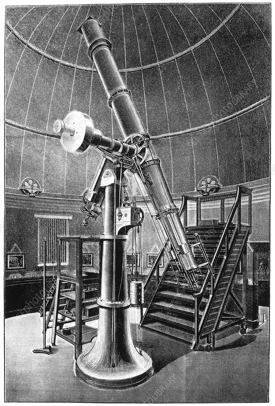15-inch Cooke refractor, 19th century