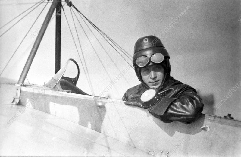 Sergei Nikitin, Soviet aviator