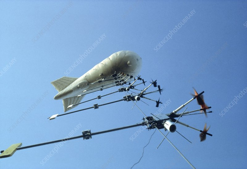 Weather balloon and instruments