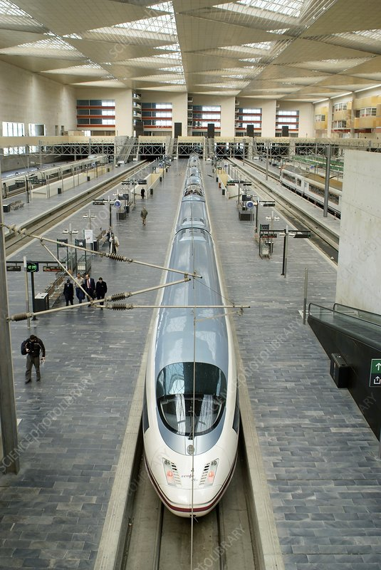 High speed train, Spain