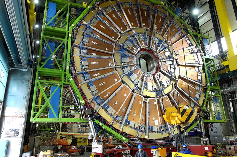 Large Hadron Collider under construction