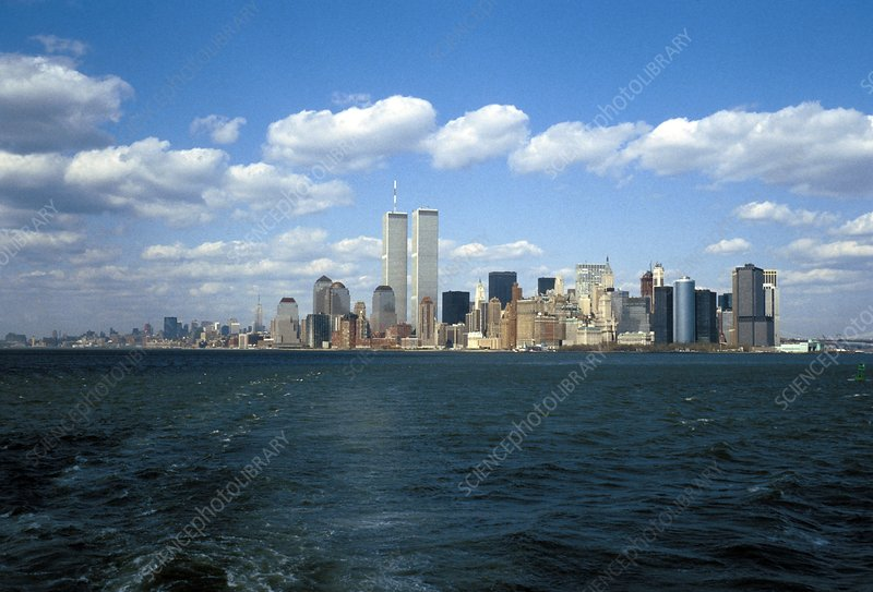 New York skyline before 9/11