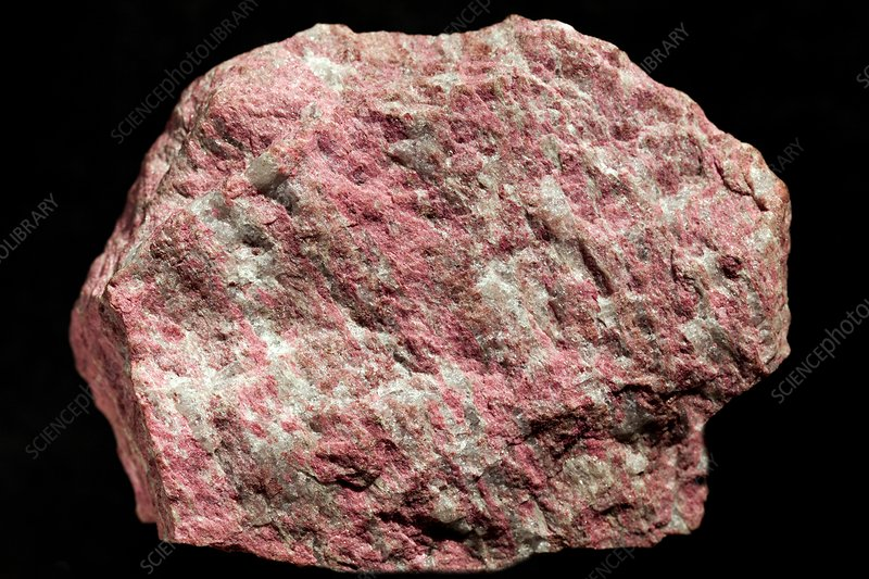 Thulite mineral