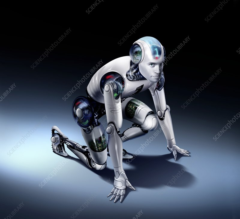 Humanoid robot, artwork
