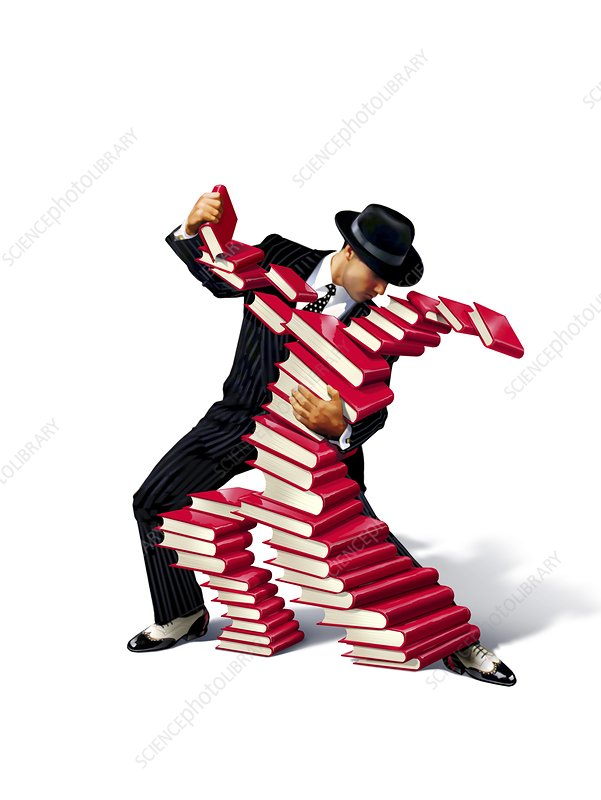 Love of bookS, conceptual image