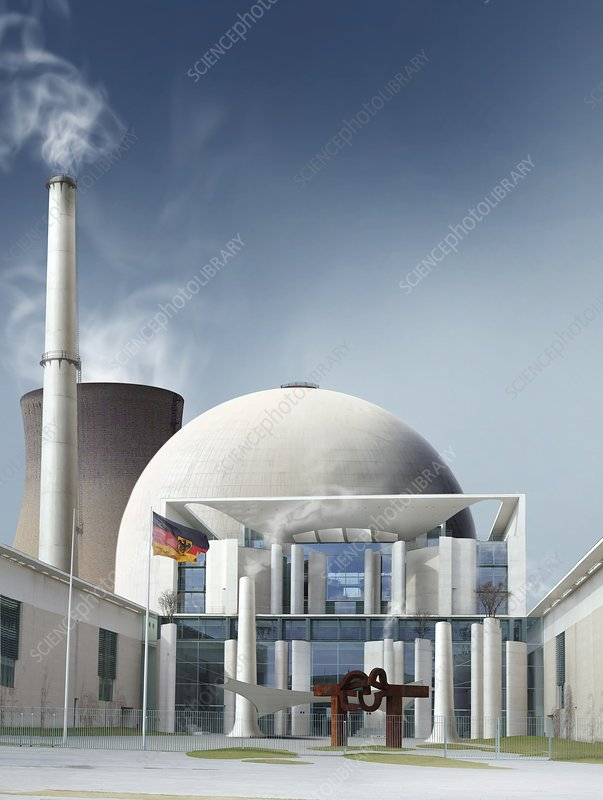 Nuclear power station, artwork