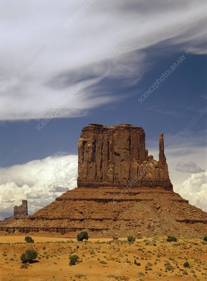 Sandstone Butte, Monument Valley