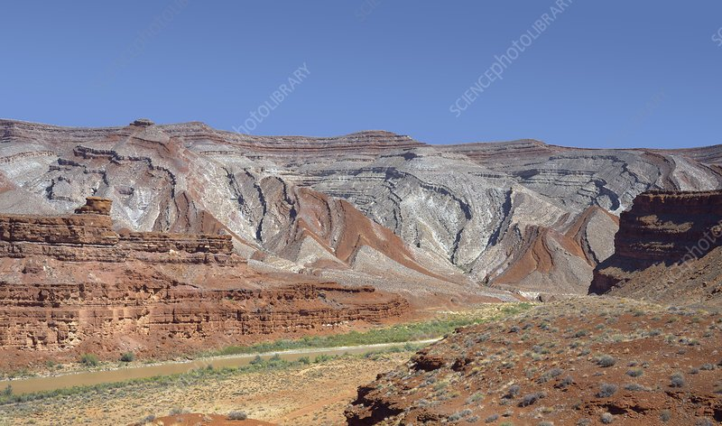 Raplee Anticline, Utah