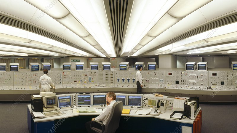 Control Room, Sizewell B Power Station