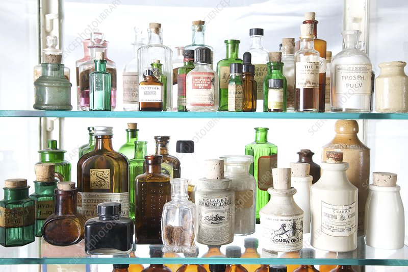 Historical medicinal products