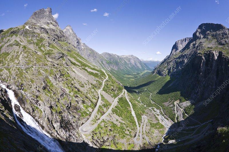 Mountain road, Norway