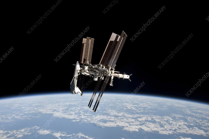 ISS and Space Shuttle, 2011