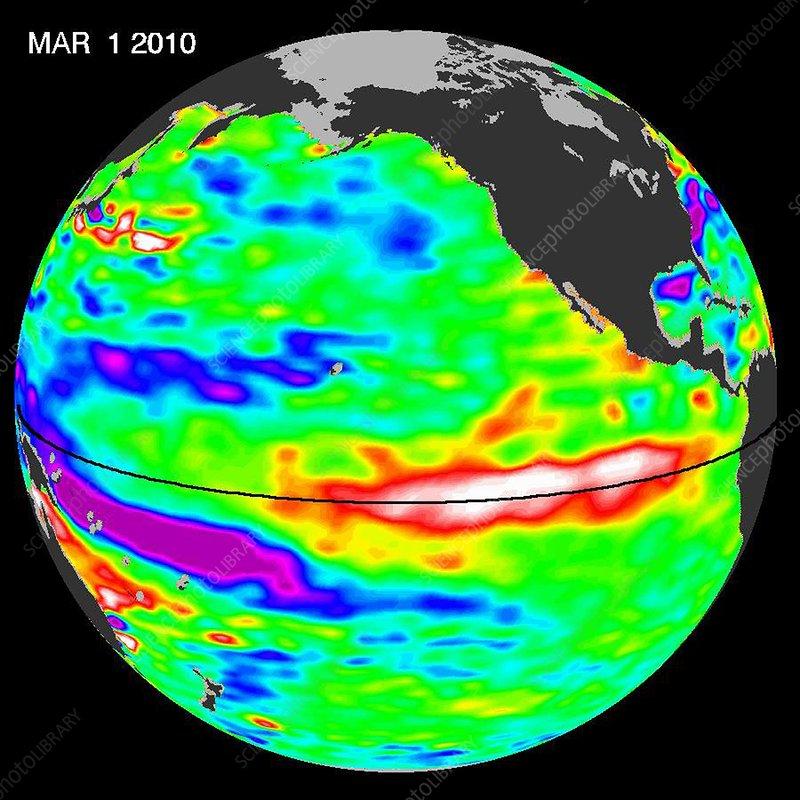 El Nino, March 2010
