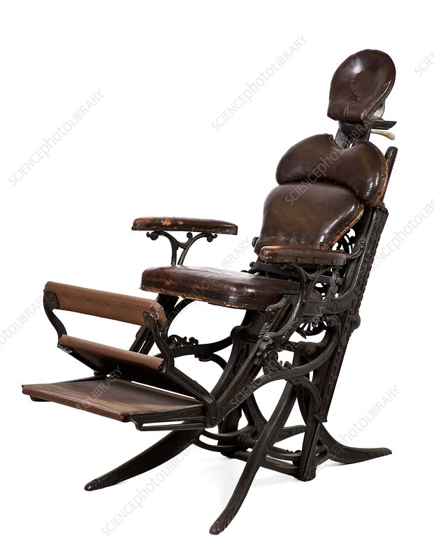 Morrison dental chair, 1872