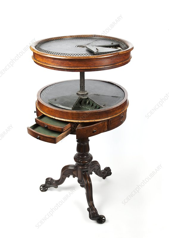 Dental instrument stand, 1860