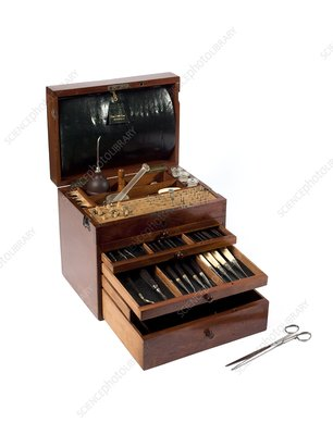 Dentistry student instrument case