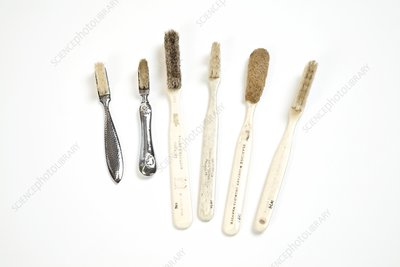 Toothbrushes, 19th century