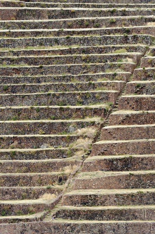 Agricultural terraces, Pisac, Peru