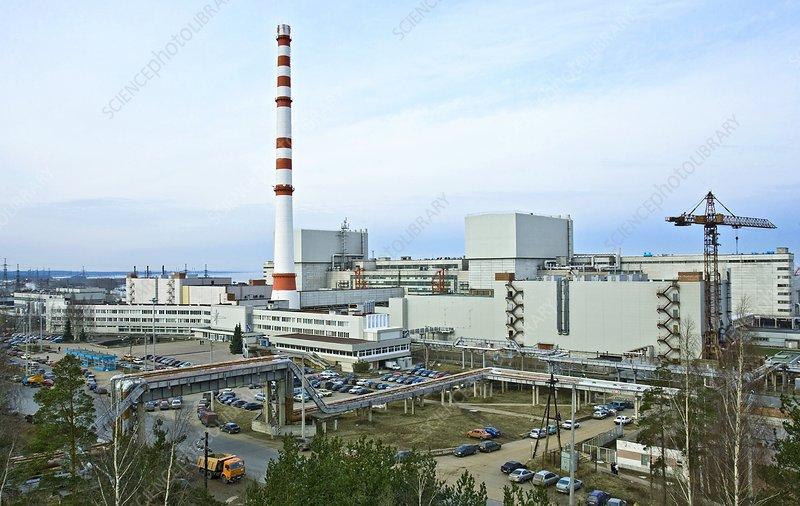 Leningrad nuclear power station