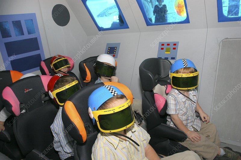 Spaceship simulator