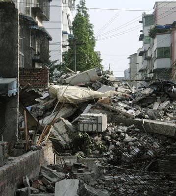 Great Sichuan Earthquake, May 2008