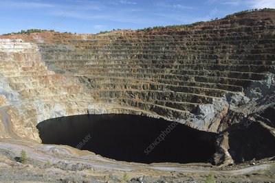 Rio Tinto copper mine, Spain