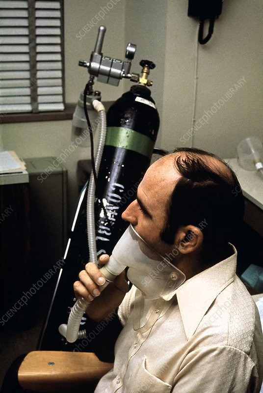 Lung disorder treatment, 1970s