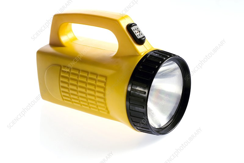 Battery-powered torch