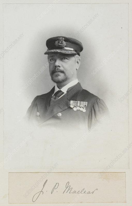 John Maclear, British Admiral