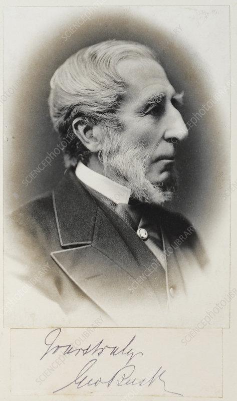 George Busk, British zoologist