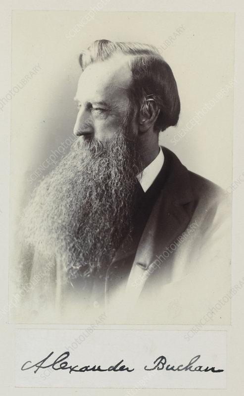 Alexander Buchan, Scottish meteorologist