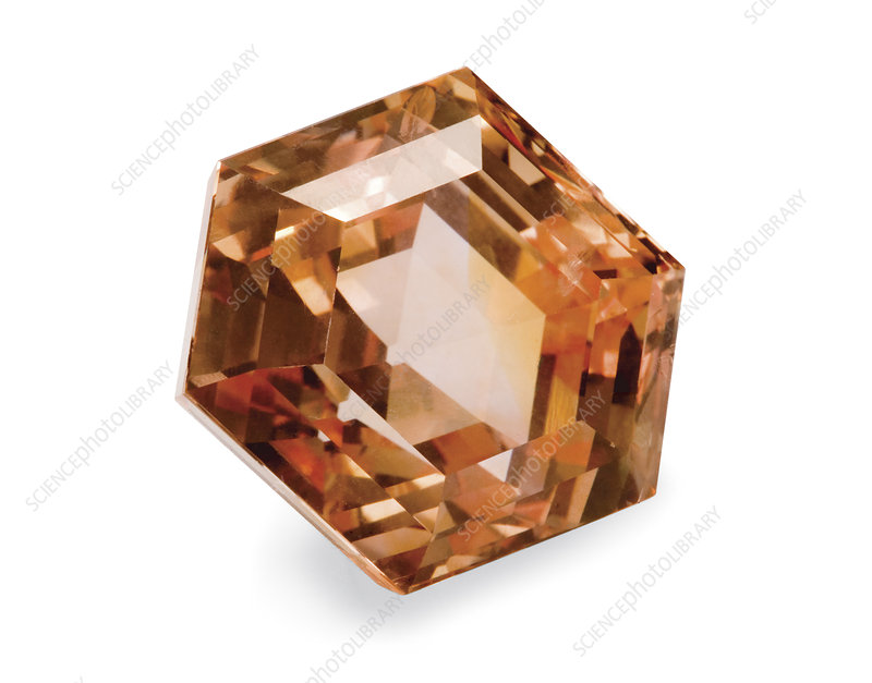Padparadscha gemstone