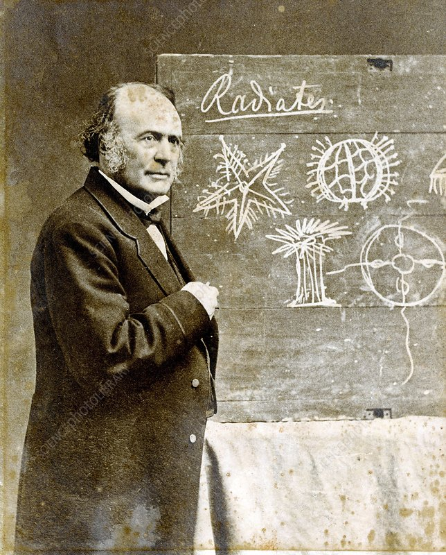 Louis Agassiz, Swiss-US naturalist