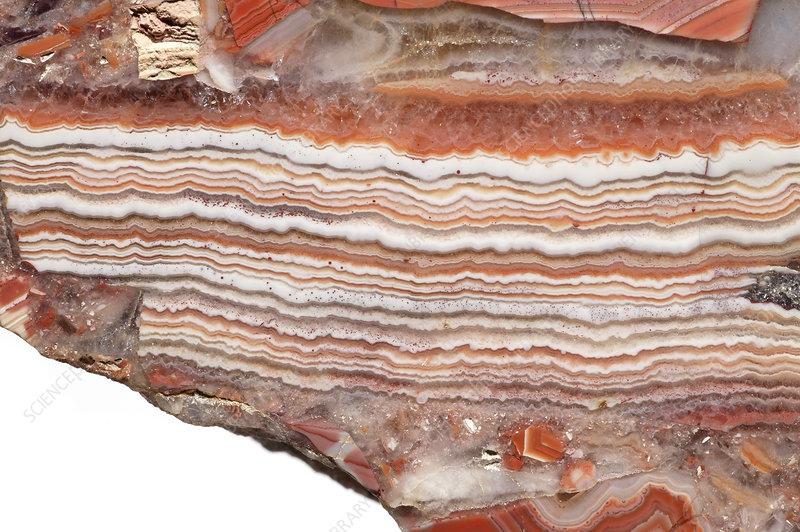 Brecciated Agate stone